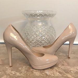 ALDO High Heel Nude/Bone Pumps- Size 38